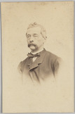 Portret van A. Dillié in burger