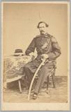 Portret van ritmeester der cavalerie O.I.L. F. Bovens