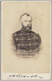 Portret van ritmeester der cavalerie J.P. van den Brandeler