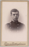 Portret van 2e luitenant J.A. Brandon