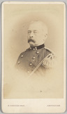 Portret van kapitein der artillerie A. Dillié
