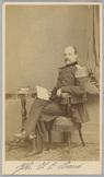 Portret van 2e luitenant der artillerie Jean Chrétien Baud