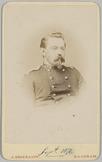 Portret van voren van een kapitein [Blu...] gemaakt in septemer 1871