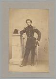 Portret van 2e luitenant der artillerie P.J. in de Betou