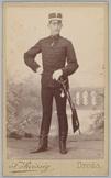Portret van luitenant-generaal J.M. Benteijn