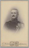 Portret van reservekapitein der infanterie J.H.N. Bernelot Moens
