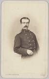 Portret van 2e luitenant A. Breeman