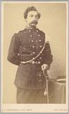 Portret van 2e luitenant S. van den Bent
