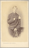 Portret van 2e luitenant der cavalerie W.J.J. Brantsma