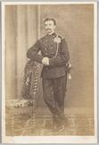 Portret van 2e luitenant der artillerie R. van Dam