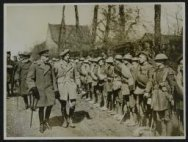 His Majesty King George Vth visits his armies in France. H.M. the King inspects …