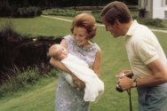 Prinses Beatrix, prins Claus en prins Willem-Alexander