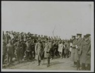 His Majesty King George Vth visits his armies in France. H.M. the King visits Ne…