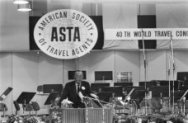 Prins Bernhard opent ASTA-Congres ( American Society of Travel Agents) in RAI, A…