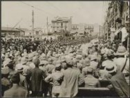 Italians welcomed at Salonica.