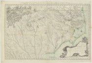Volledige kaart van Noord-Carolina.<br>A Complete Map of North Carolina from an …