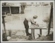 Washing day on the bank of the Scarpe, Feuchy