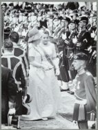 Prinses Beatrix en prinses Margriet met Prinsjesdag, 15 september 1964