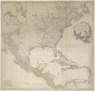 Kaart van Noord Amerika, getiteld 'Amerique Septentrionale'<br>A map of North Am…