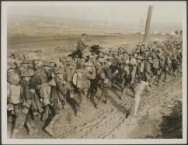 Australians off up to the trenches