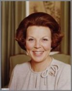 Prinses Beatrix in Kasteel Drakensteyn