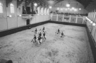 Ruitershow ten gunste van officiele heropening Hollandse Manege door Prins Bernh…