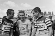 51ste Tour de France 1964, Ab Geldermans, Jacques Anquetil en Jo de Roo