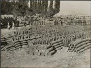 A Serbian ammunition Camp.
