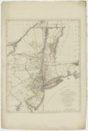 Kaart van de provincies New York en New Jersey<br>A Map of the Province of New-Y…
