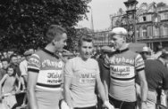 Tour de France 1962 ,  Ab Geldermans, Jacques Anquetil, [Mies Stolker?]