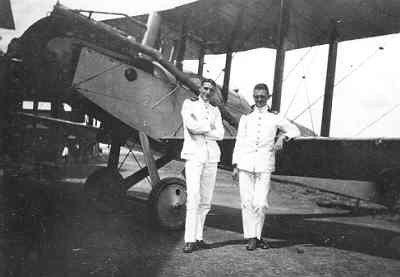 De omsd2 van Os en van Veen voor een Haviland DH9 van het KNIL, in opleiding tot vlieger te Kalidjati