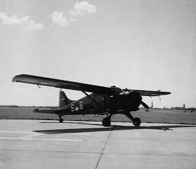 Beaver met de registratie S-6.