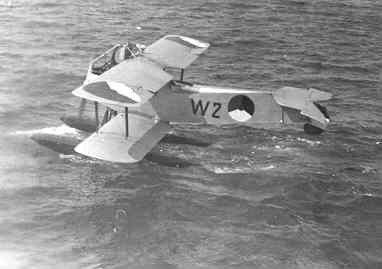 Verkenningsvliegtuig Van Berkel WA (W-2) (1919-1933) start voor zijn laatste vlucht