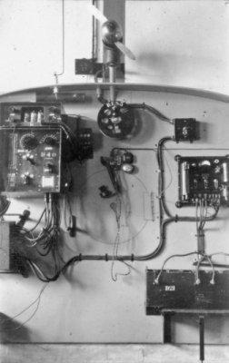 Radiohut van een Dornier Wal maritieme patrouillevliegboot (1926-1940).