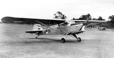 Auster AOP Mk.3 in Nederlands-Indie.