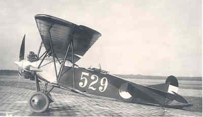 Zijaanzicht links Fokker C.I Lynx.