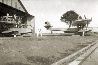 De Dornier Wal maritieme patrouillevliegboten D-7 (1928-1939) en D-15 (1928-1939)