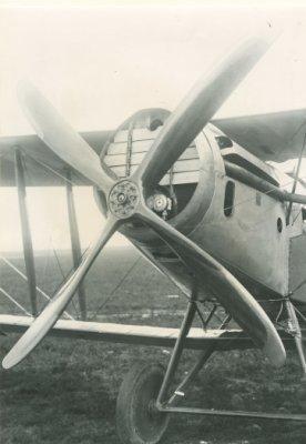 Detail motor Bristol F.2B BR401, ex-B1124.