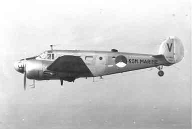 Beech SNB-5 (082) (1953-1974) lesvliegtuig voor luchtnavigatie