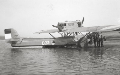 Dornier Wal maritieme patrouillevliegboot D 23 (1929-1929)