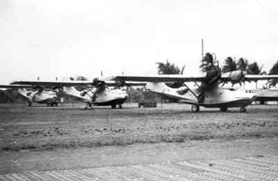 Maritieme patrouilleamfibie Consolidated PBY-5 Catalina (1941-1946).