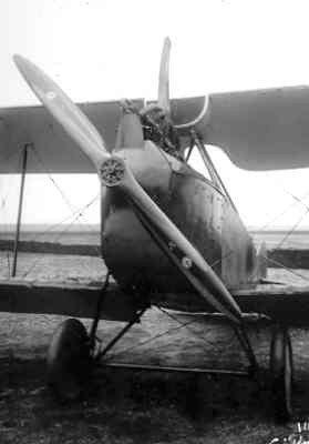 Rumpler C.I met reg. R410, ex 2560/17, op Soesterberg ergens in januari 1918.