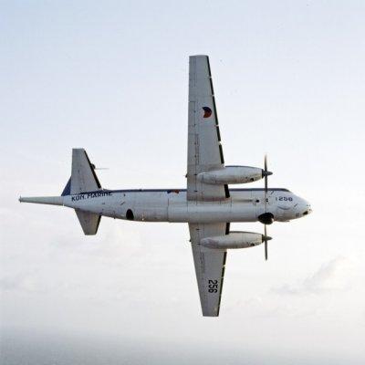 Het Breguet BR1150 Atlantic (SP-13A) maritiem patrouillevliegtuig 256 (1971-1984).