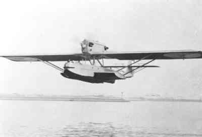 Maritieme patrouillevliegboot Dornier Wal (1926-1940). Proefvlucht bij Aviolanda