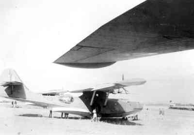 Maritieme patrouilleamfibie Consolidated PBY-5 Catalina (1941-1946). De Y-83