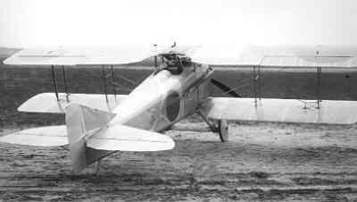 SPAD S.7 C.1 SPA210. Vorige (franse) registratie 1832. Rechts achter.