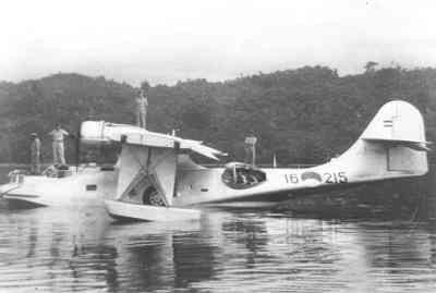 Maritieme patrouilleamfibie Consolidated PBY-5A Catalina P 215 (ex-BuA 46583 ) (1951-1956)   Nederlands Nieuw-Guinea