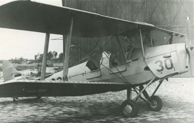 De Havilland DH.82A Tiger Moth.