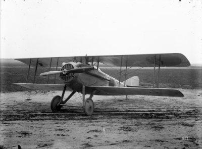 SPAD S.7 C.1 SPA210. Vorige (franse) registratie 1832. Links voor.