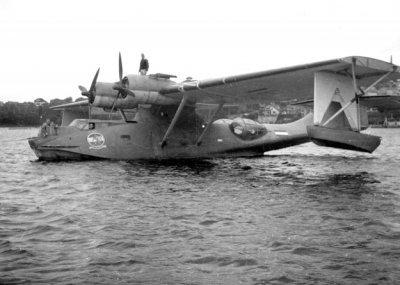 Een Consolidated PBY-5 Catalina maritieme patrouillevliegboot (1943-1949)